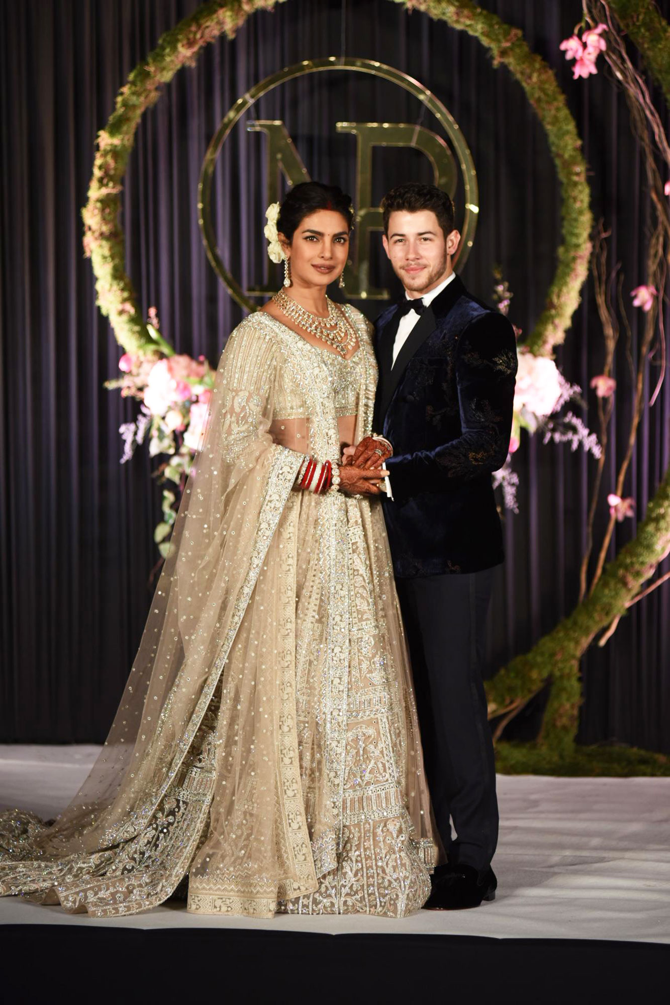 Celebrity Couples of 2018 Nick Jonas and Priyanka Chopra - Nick Jonas and Priyanka Chopra are seen having another marriage ceremony in Delhi, India.
