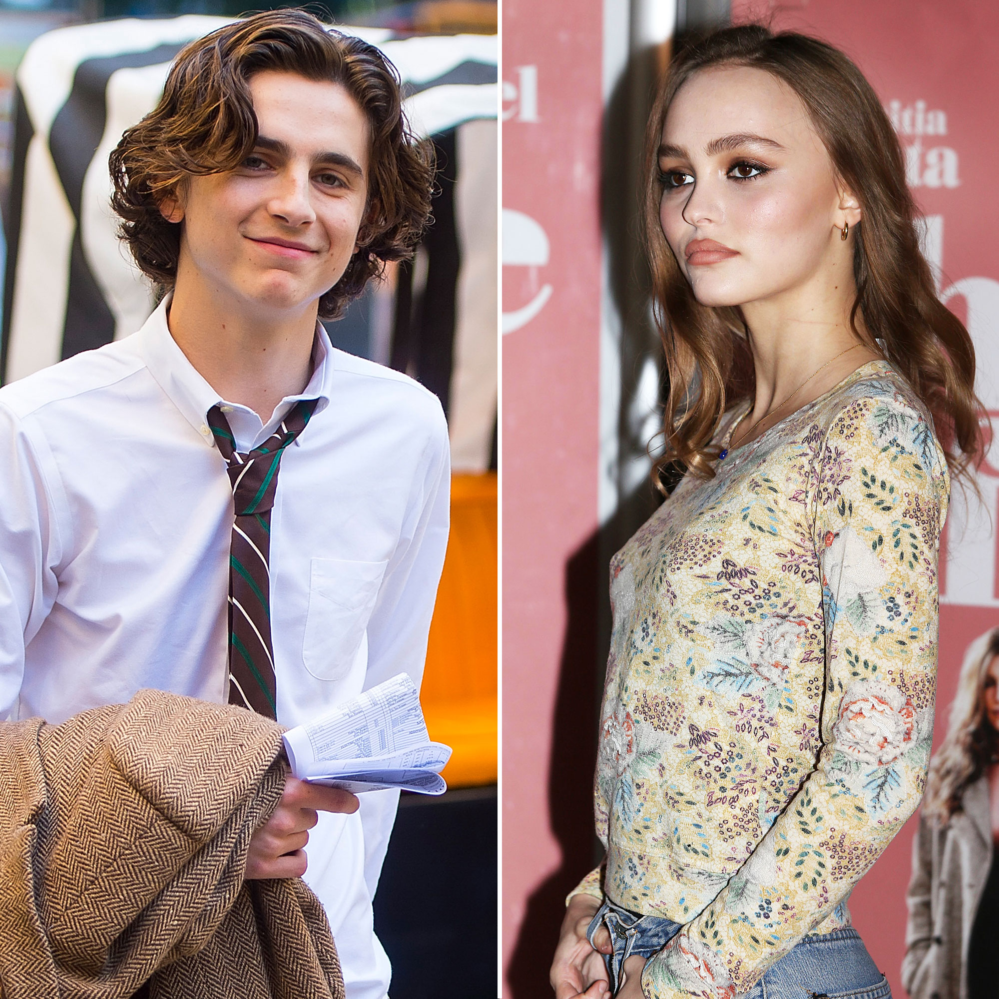 Celebrity Couples of 2018 - Reports surfaced in September that the actor and model, who filmed the upcoming Netflix film The King in 2018, were dating. In October, an eyewitness told Us Chalamet and Lily-Rose, the daughter of Johnny Depp and Vanessa Paradis , were packing on the PDA in New York City.