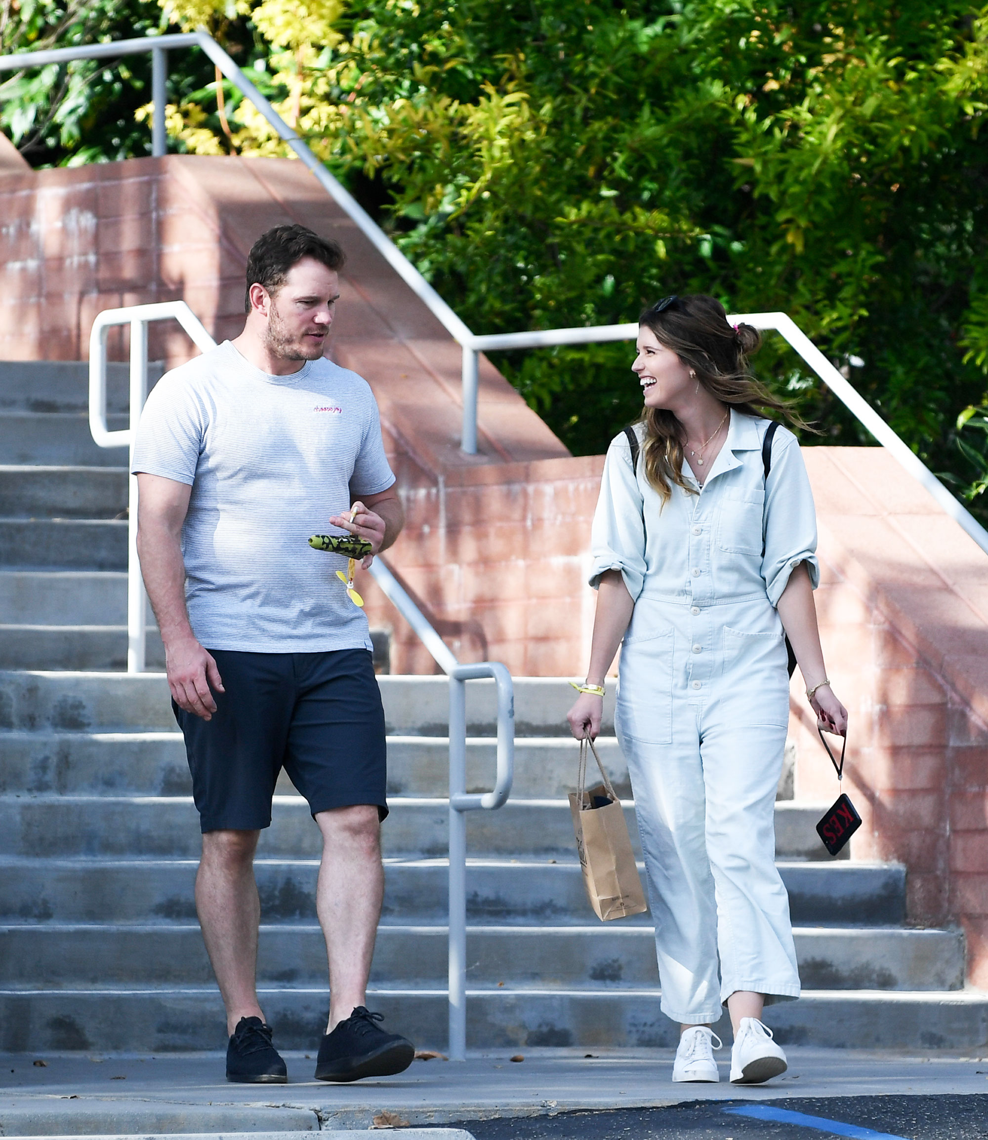 """Celebrity Couples of 2018 Chris Pratt and Katherine Schwarzenegger - Pratt and Schwarzenegger first sparked romance rumors in June. A source told Us at the time that the author's mother, Maria Shriver , """"set them up because they're both active in church."""""""