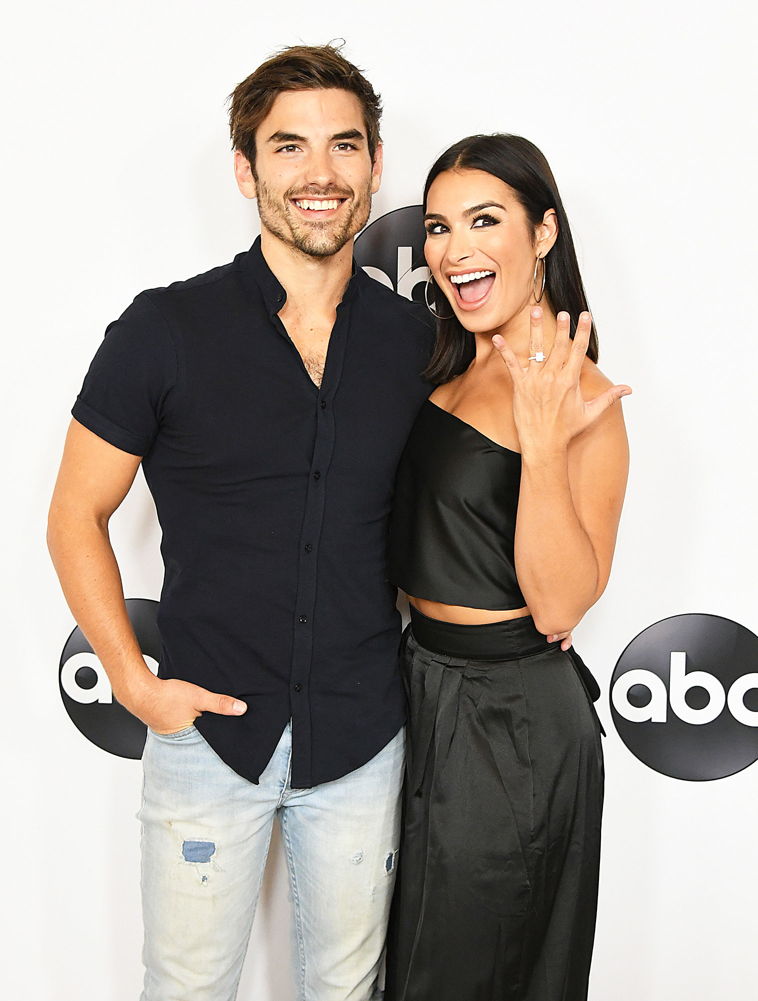 Celebrity Couples of 2018 Jared Haibon and Ashley Iaconetti - Three years after they met while filming Bachelor in Paradise, Iaconetti and Haibon revealed in May that their longtime friendship had turned romantic. The Bachelor Nation couple returned to Mexico in June and Haibon popped the question.