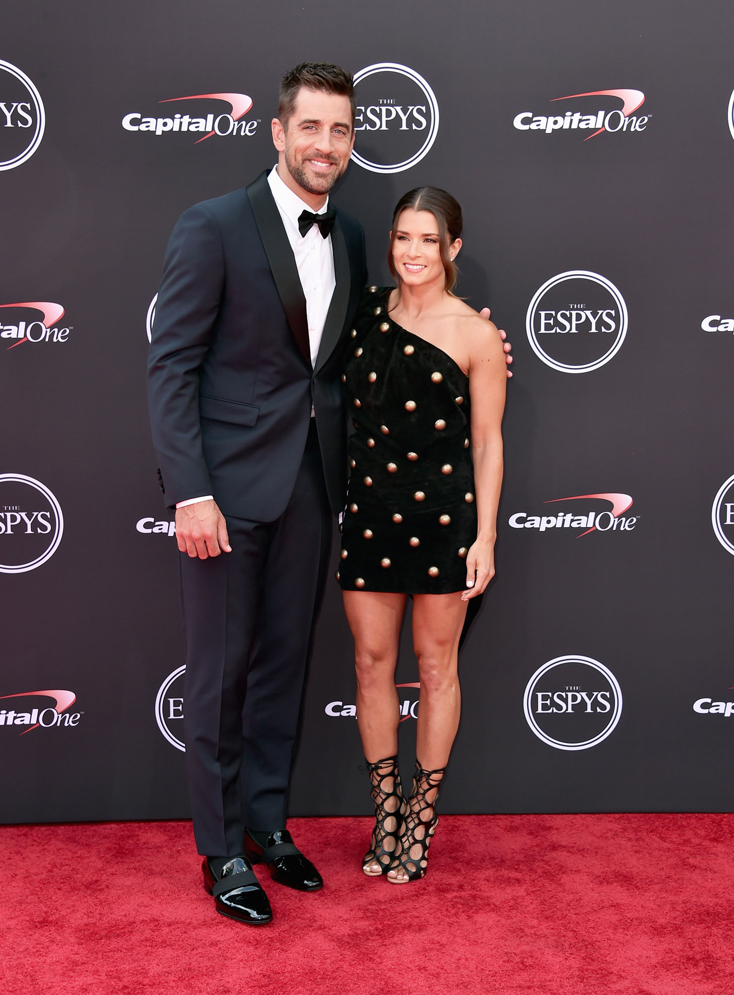 """Celebrity Couples of 2018 Aaron Rodgers and host Danica Patrick - Us confirmed in September that the NFL pro and the NASCAR driver were dating. Rodgers gushed about their relationship in October, telling Artful Living that they are """"really into each other"""" and """"really attracted to each other."""""""