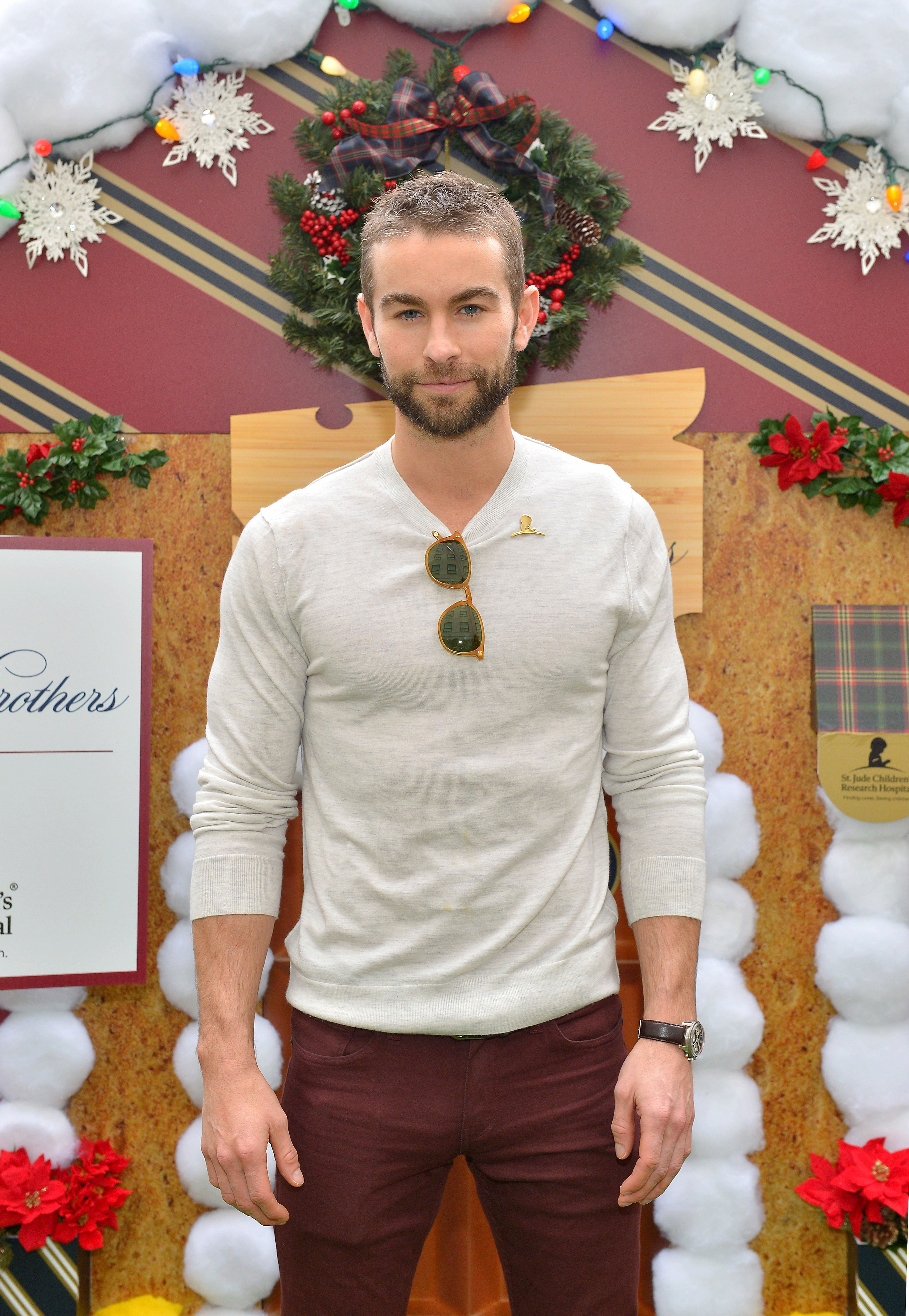 Chace Crawford Is Game for a 'Gossip Girl' Revival: 'It Was Such a Fun Part of My Life' - Chace Crawford at The Brooks Brothers and St Jude Children's Research Hospital Annual Holiday Celebration on December 9, 2018 in Beverly Hills, California.