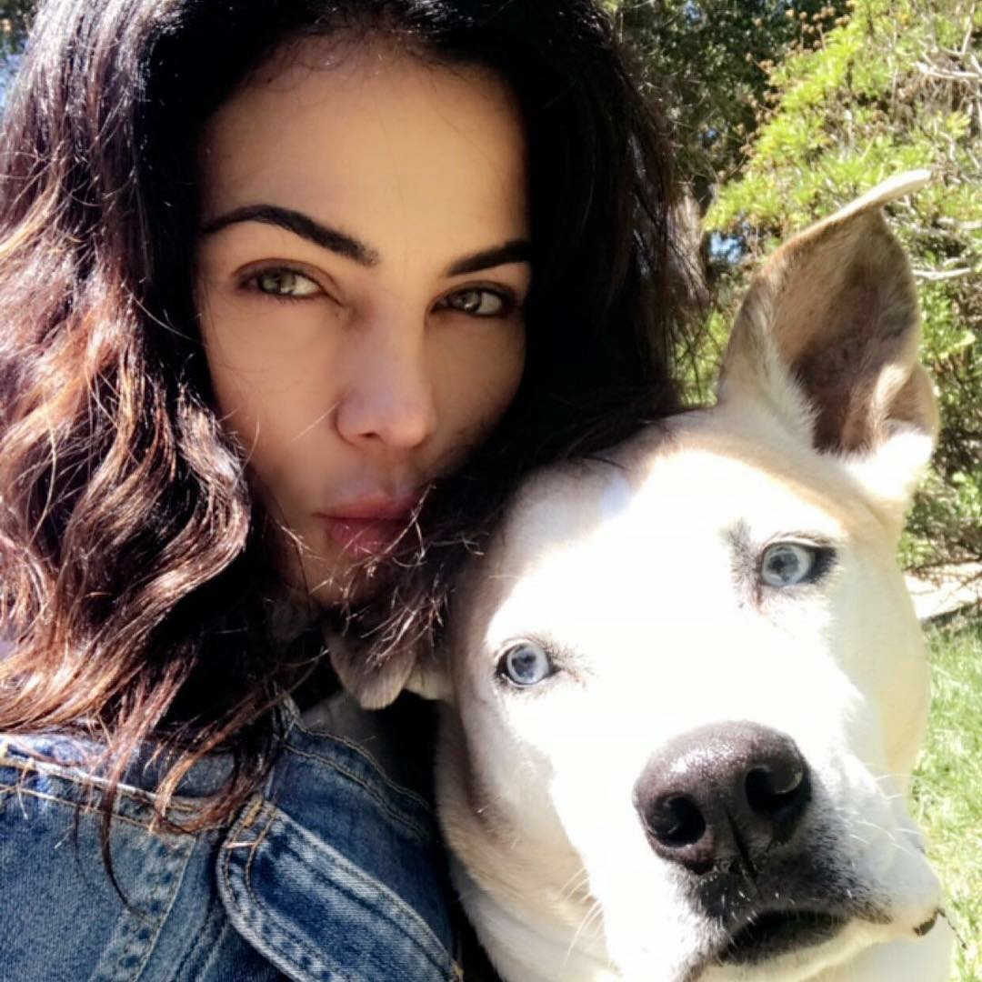 Channing Tatum and Jenna Dewan Mourn the Death of Their Dog Lulu: 'Heartbroken Doesn't Even Come Close to How It Feels' - Jenna Dewan and Lulu.