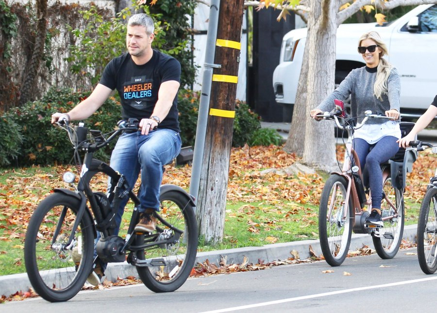 Christina El Moussa, Ant Anstead Ride Bikes on First Christmas as Wife & Husband