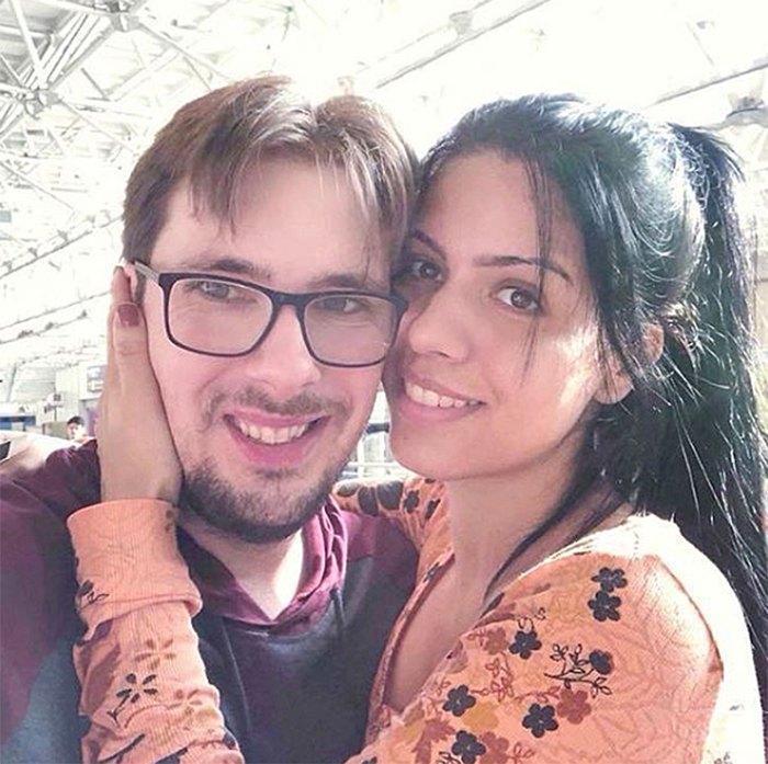 Colt Johnson and Larissa Dos Santos Lima