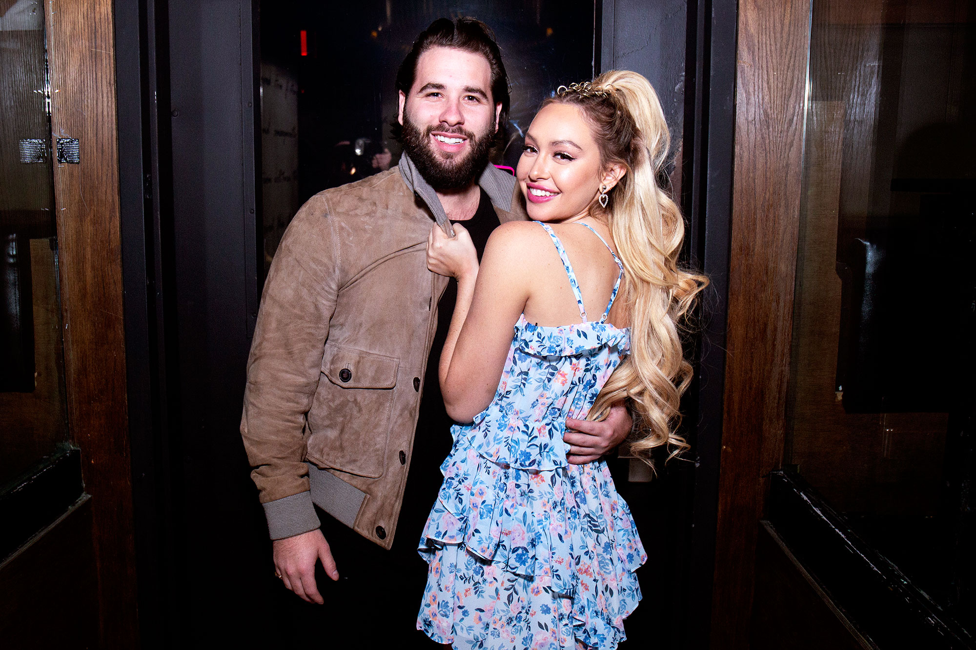 Jon Yunger and Corinne Olympio - Jon Yunger and Corinne Olympios at 1OAK for her birthday celebration on November 10, 2018 in New York City.