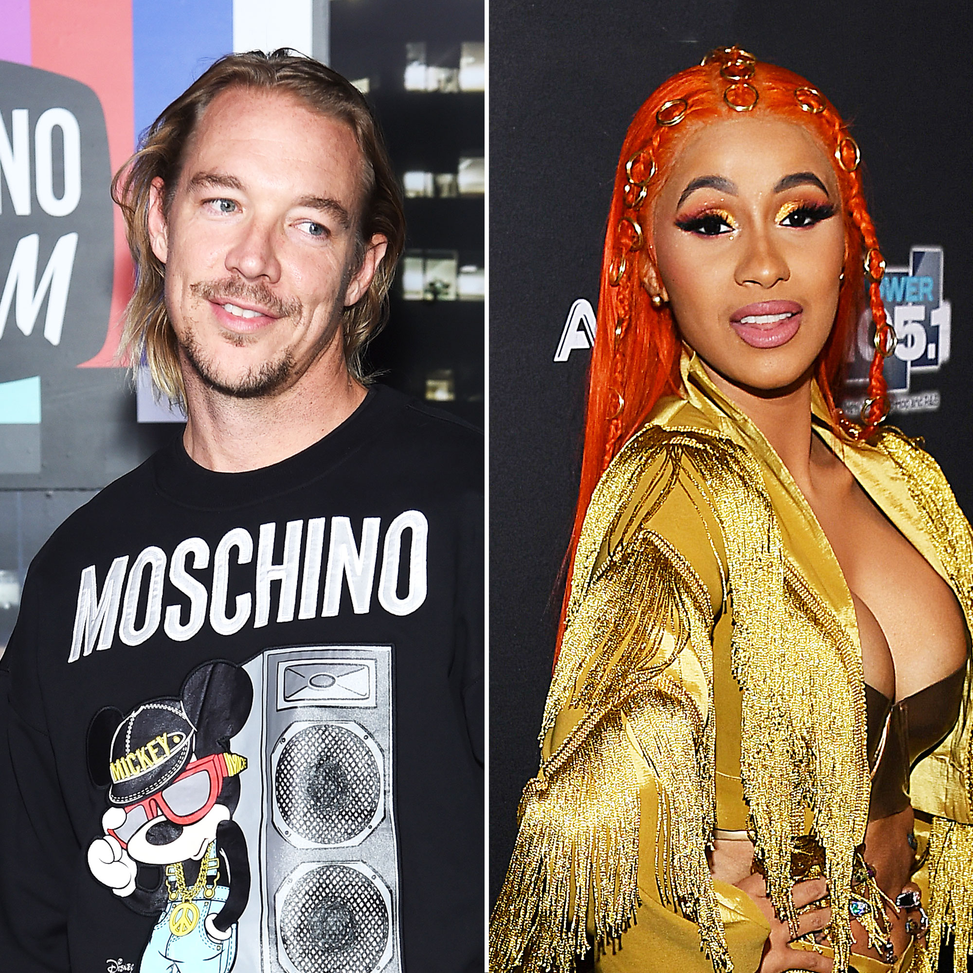 Diplo Leaves a Flirty Comment on Cardi B's Instagram After Her Split From Husband Offset - Diplo and Cardi B