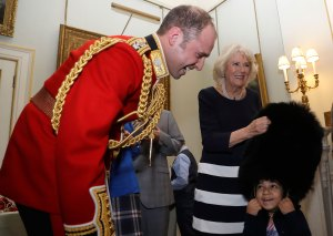 Duchess Camilla Hosts Christmas Event for Sick Children