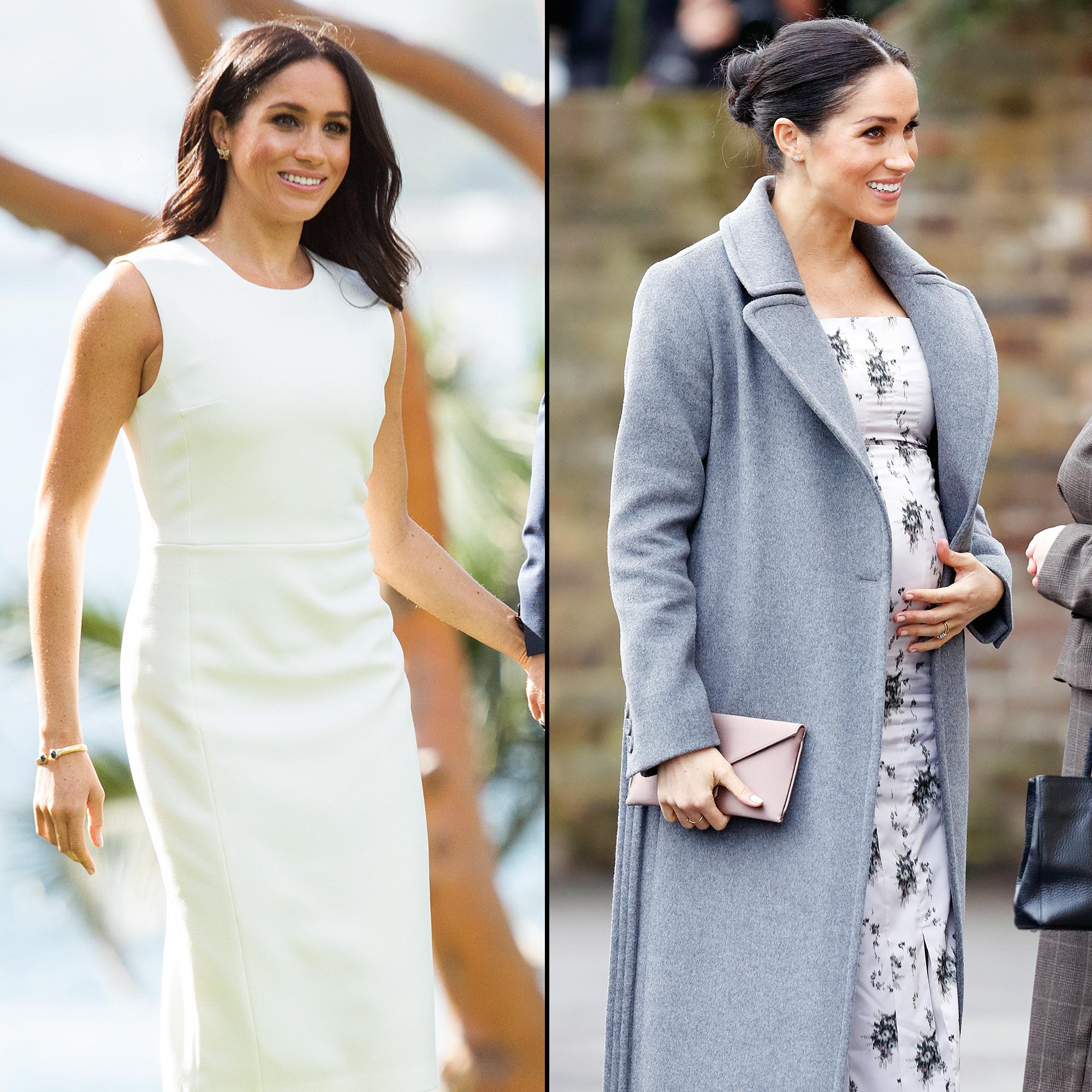 Pregnant Duchess Meghan's Baby Bump Has Really Grown