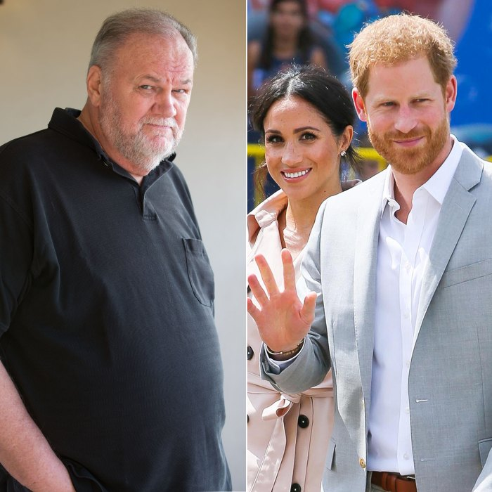 duchess meghan s dad brings up prince harry s past behavior duchess meghan s dad brings up prince