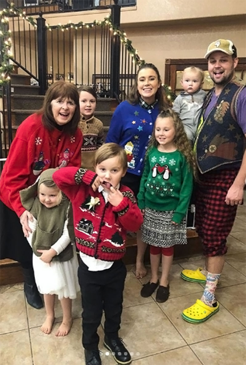 d9a2871657 Duggar Family Has First Ugly Christmas Sweater Party: Pics
