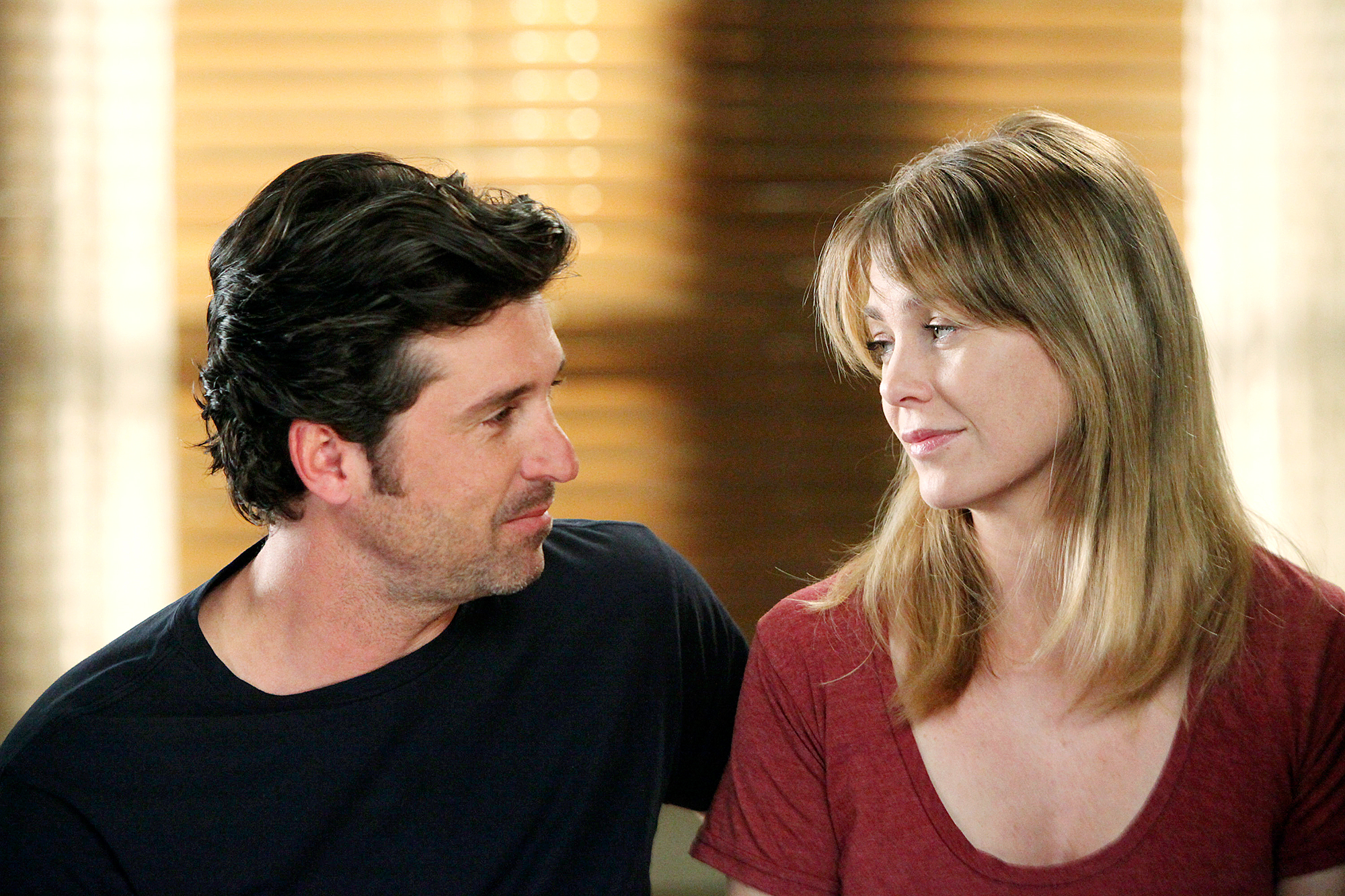 "Ellen-Pompeo-and-Patrick-Dempsey-not-spoken-since-2015 - Pompeo made headlines in December 2018 after she revealed she hasn't spoken to Dempsey since 2015. ""We haven't spoken since he's left the show,"" she said on Jada Smith 's Red Table Talk."
