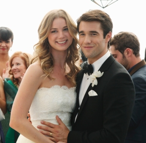 Emily VanCamp Josh Bowman Marry Bahamas