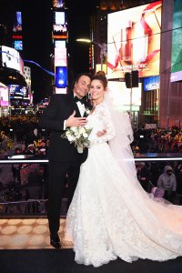 Every Star Who Got Married on New Year's Eve