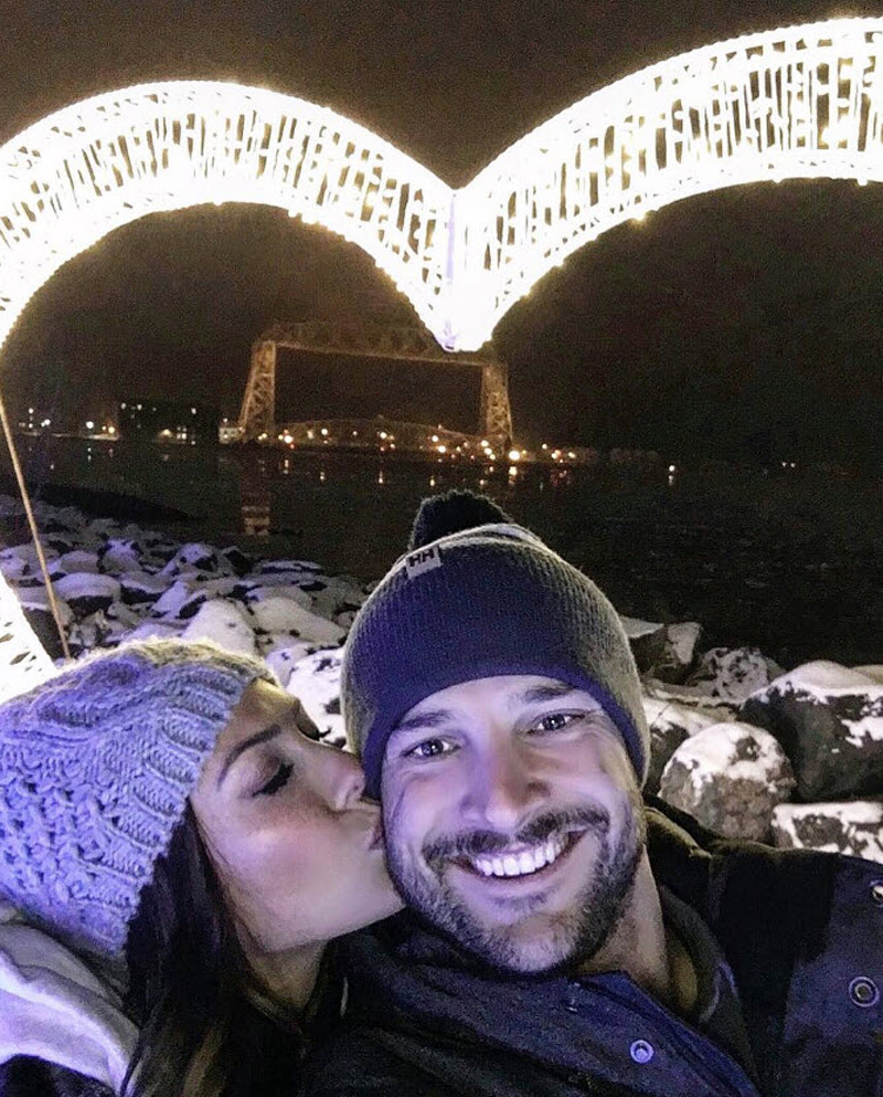 Becca Kufrin and Garrett Share the 'Only' Thing They've Discussed About Wedding Planning - Becca Kufrin and Garrett Yrigoyen.
