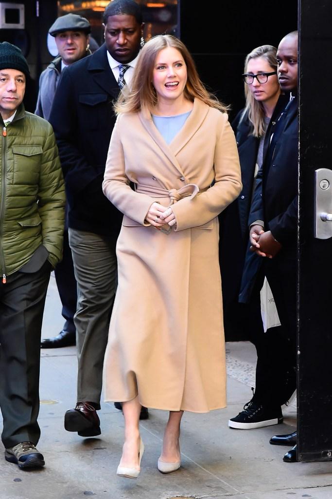 Celebrity Sightings in New York City - December 19, 2018