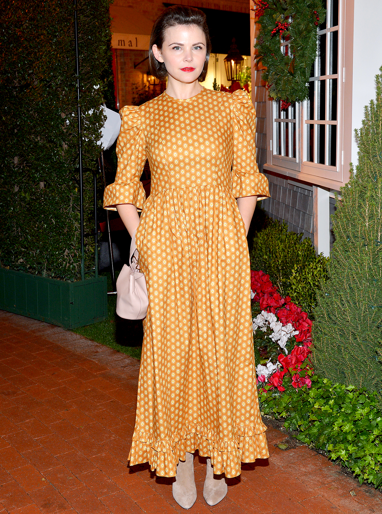 Ginnifer-Goodwin-Josh-Dallas-Marriage-Hot - Ginnifer Goodwin attends the Tamara Mellon Palisades Village Opening Party at Blue Ribbon Sushi on December 11, 2018 in Pacific Palisades, California.