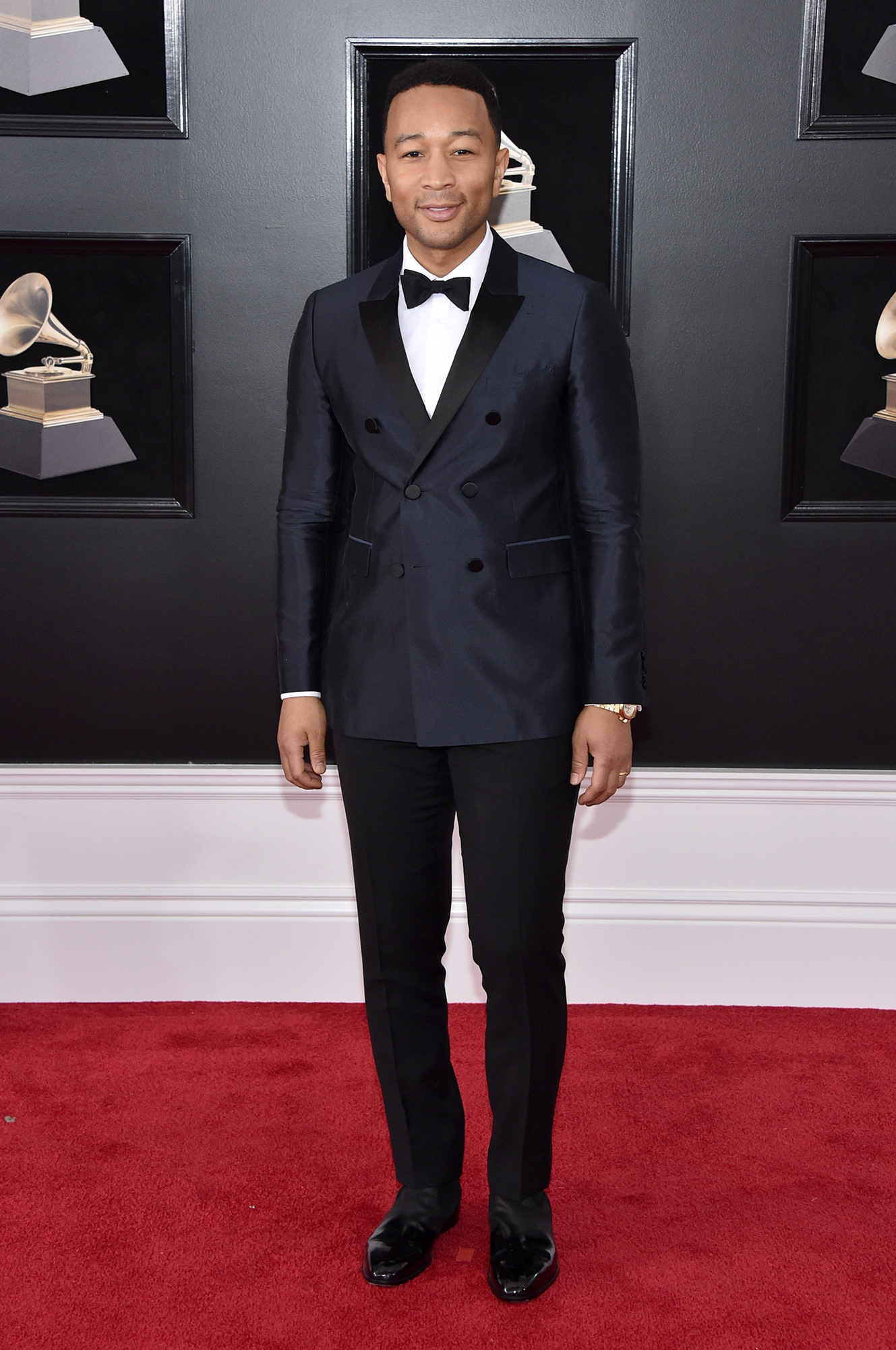 Hottest Guys in Suits - 2018 Edition - The newly crowned EGOT winner showed off his fab fashion sense in a black double-breasted Burberry tux at the Grammys.