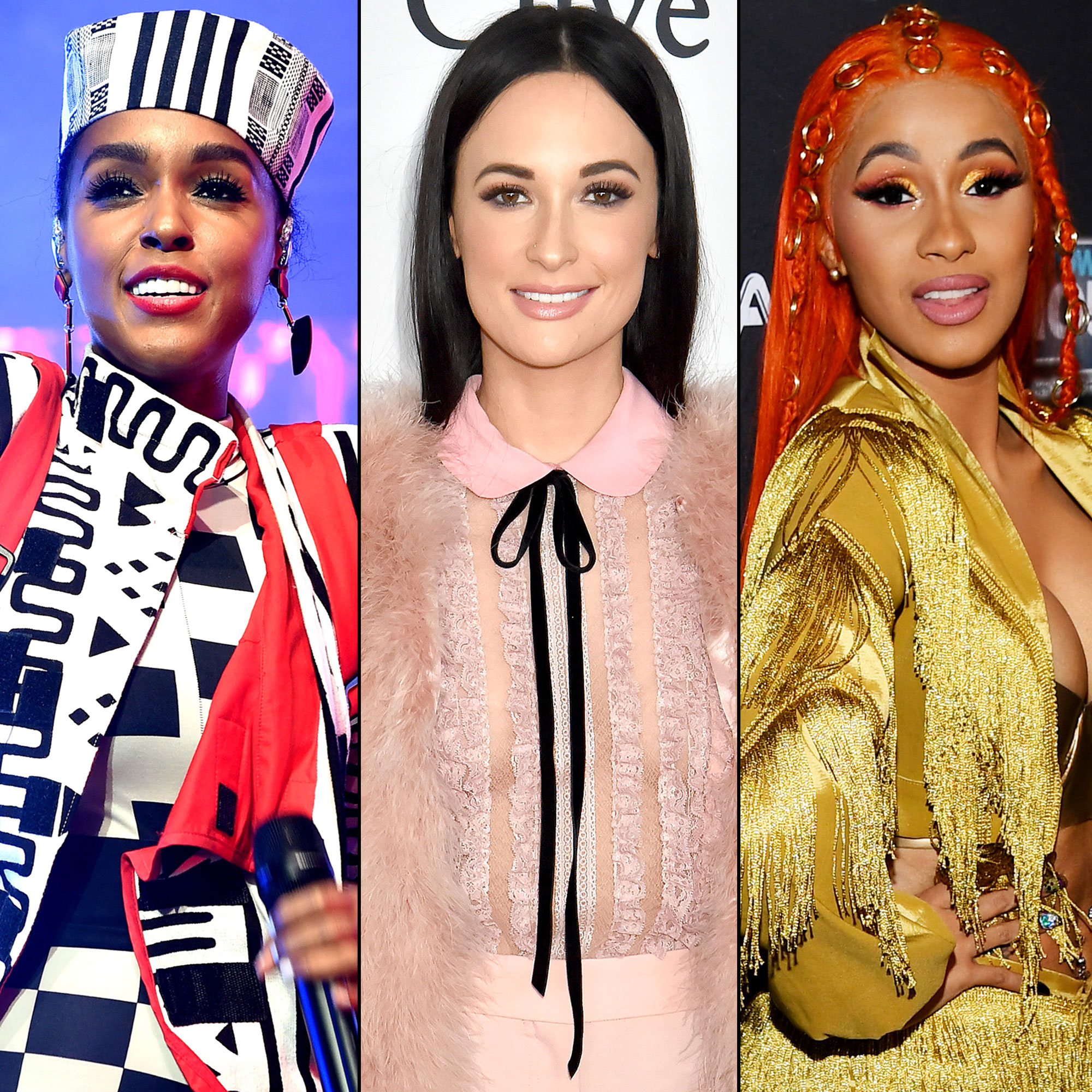 Best Albums of 2018 - Janelle Monae, Kacey Musgraves and Cardi B.