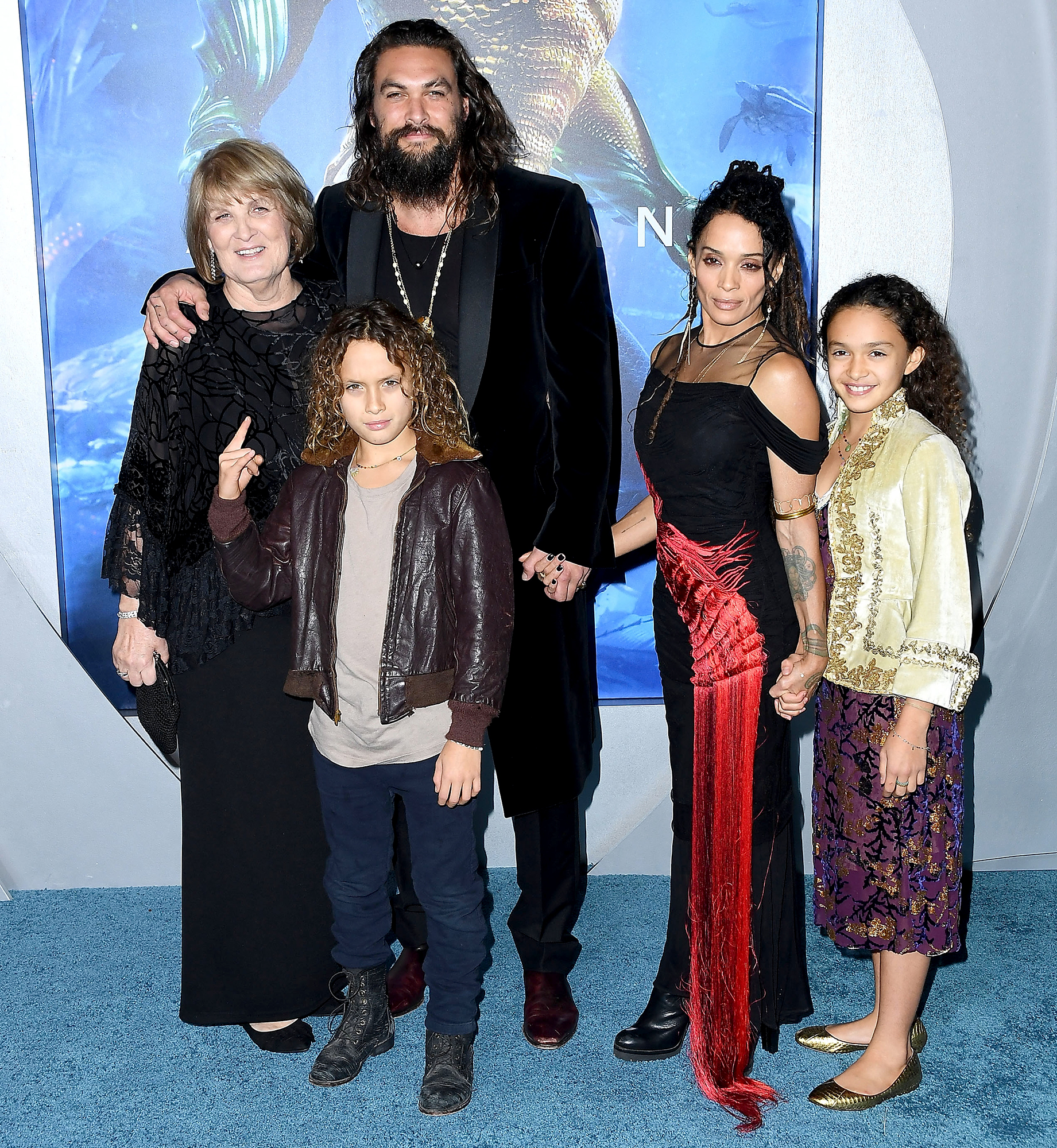 Jason Momoa Family: Jason Momoa, Lisa Bonet And Their Kids Are Goals At The