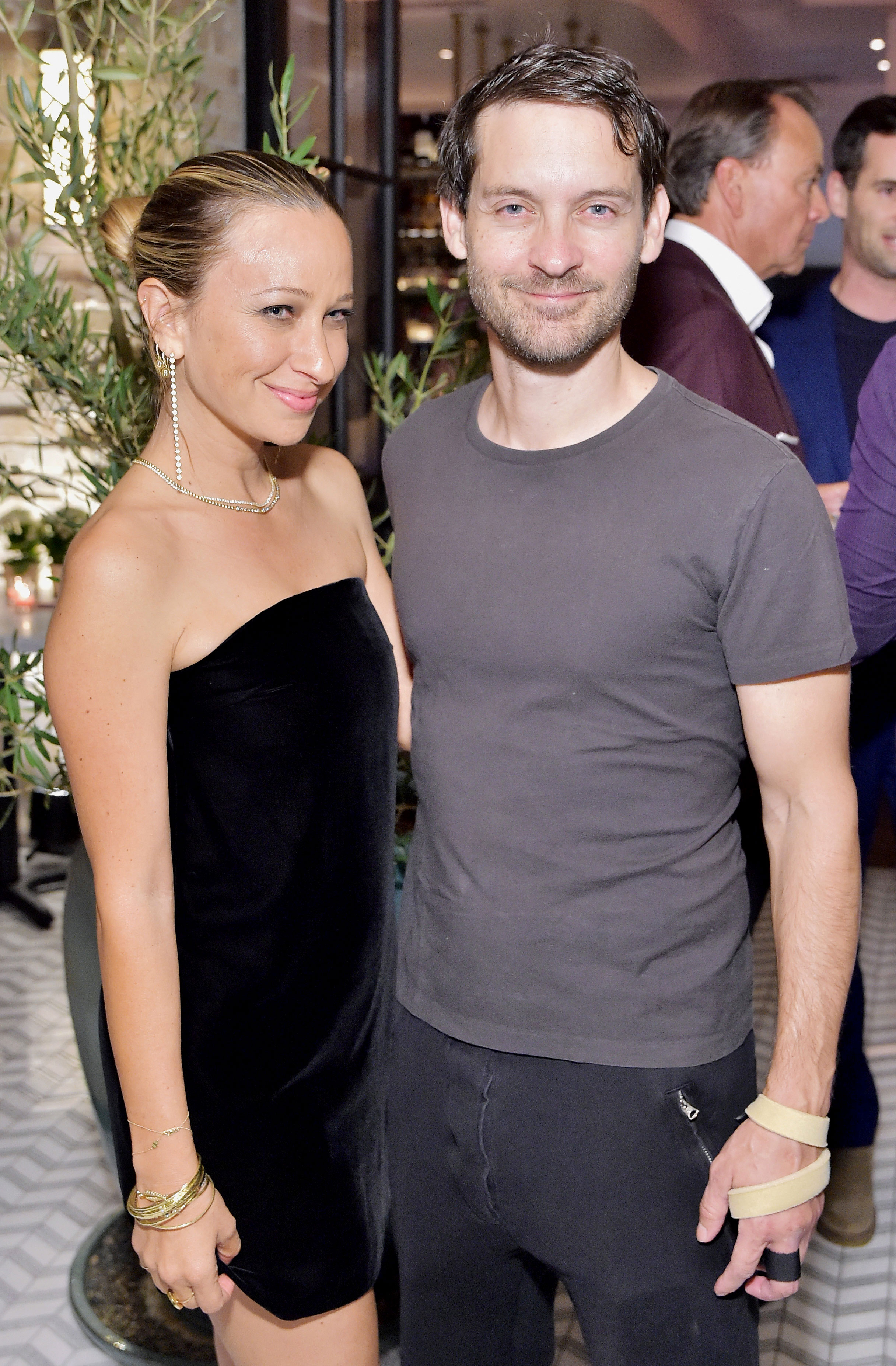 Jennifer Meyer: There's 'Nothing Better in My Life' Than My Kids - Jennifer Meyer and Tobey Maguire celebrate Jennifer's first jewlery store opening on October 17, 2018 in Pacific Palisades, California.