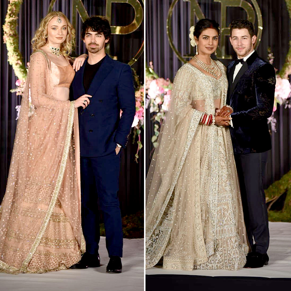 Sophie Turner Wedding.Joe Jonas Sophie Turner Look So In Love At Nick Jonas Reception