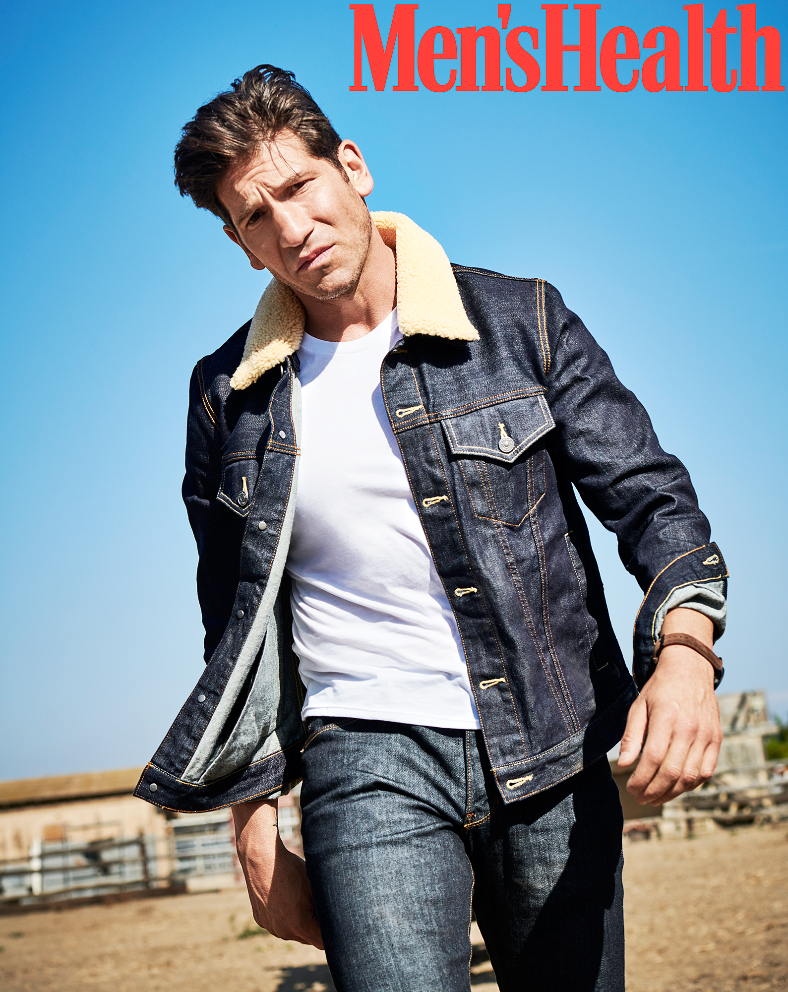 Jon Bernthal Dropped Out First Man After Daughter Coma Mens Health