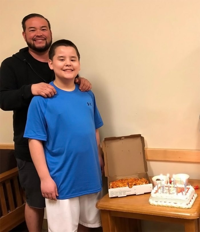 Collin Gosselin 'has the light back in his eyes' after his father, Jon Gosselin, was awarded sole custody of him, a source tells Us Weekly