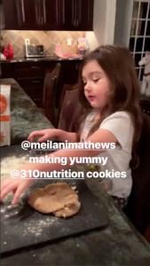 JWoww cookies daughter