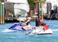 Katie Holmes Jamie Foxx Jet Ski Miami