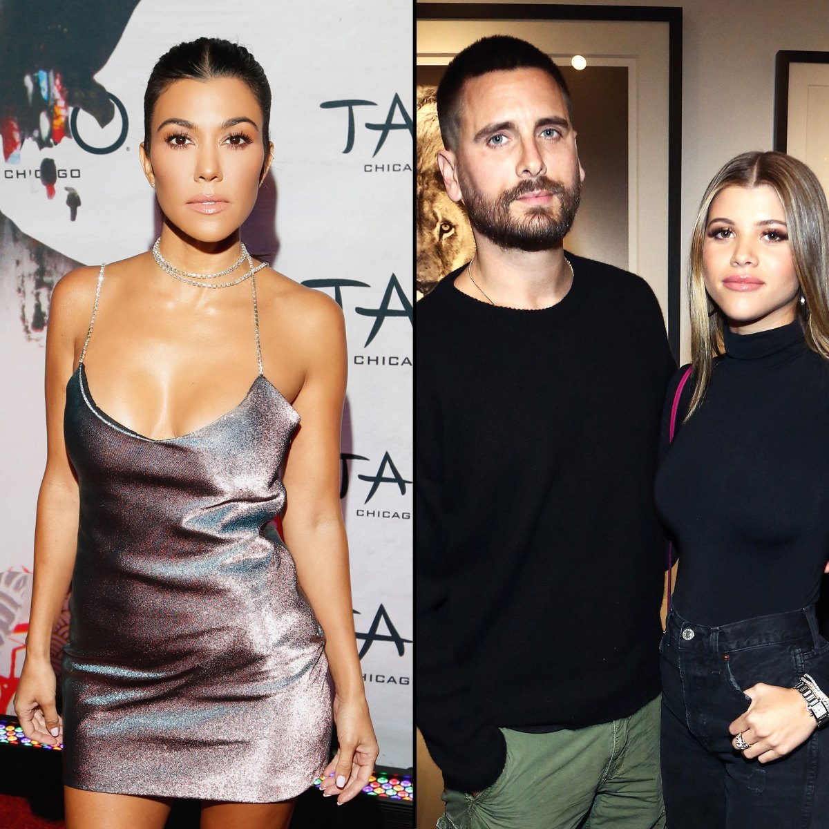 Kourtney Kardashian Is in 'Better Space' With Scott Disick, Sofia Richie