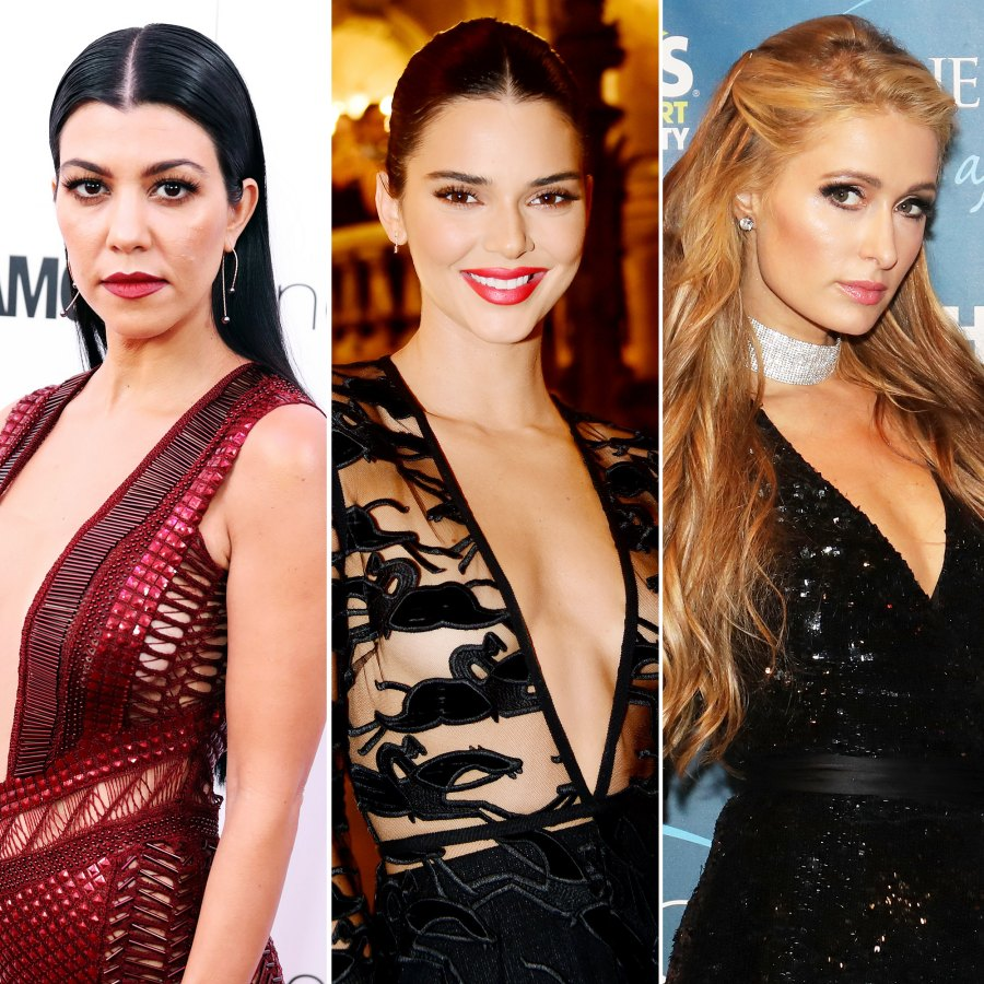 Kourtney Kardashian Kendall Jenner Scott Disick Sofia Richie Paris Hilton Vacation Aspen