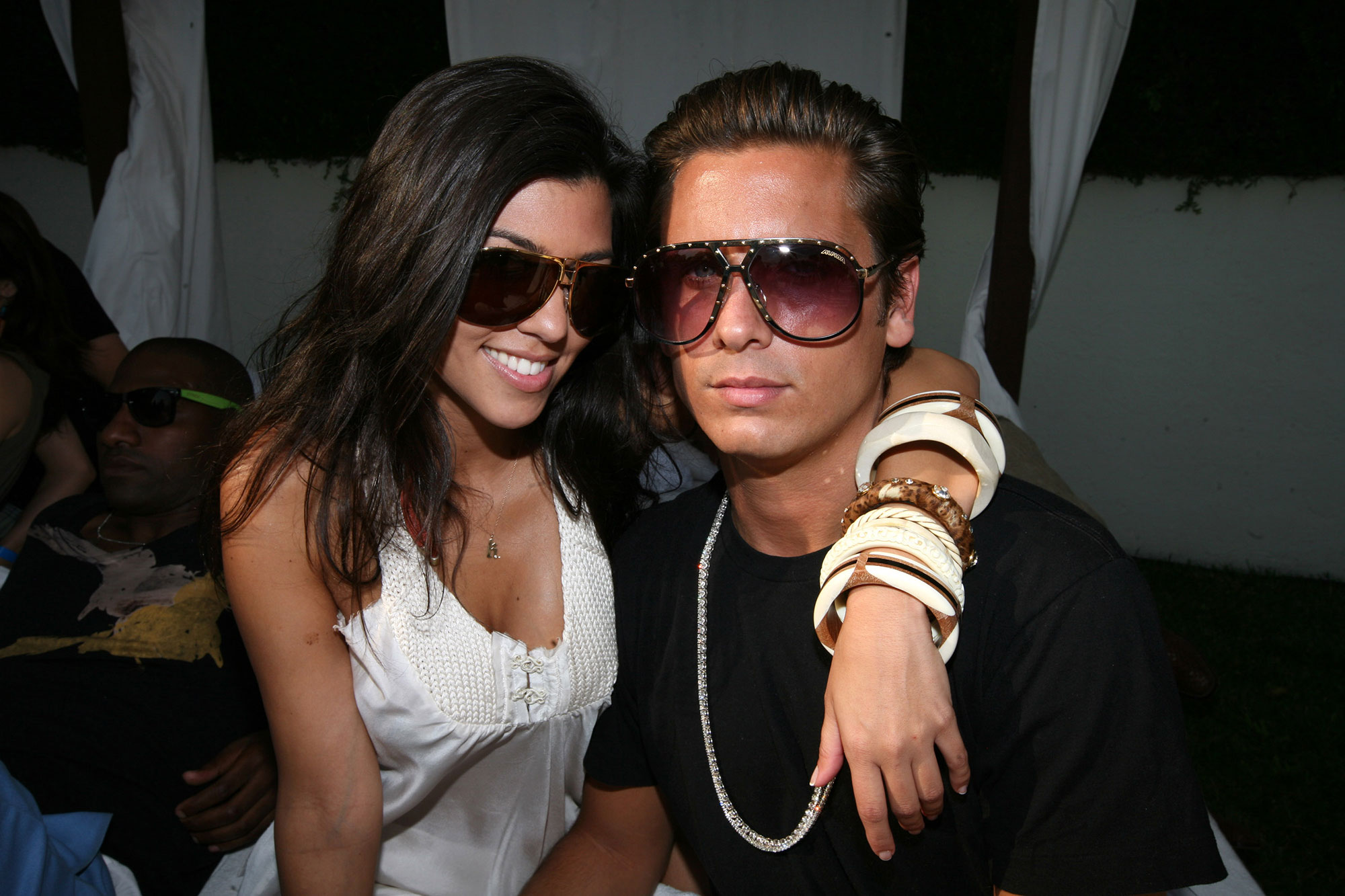 Kourtney Kardashian and Scott Disick - Kourtney accused her boyfriend of cheating on her on the season 2 premiere of KUWTK after she found texts from another woman on his phone. The pair split shortly after.