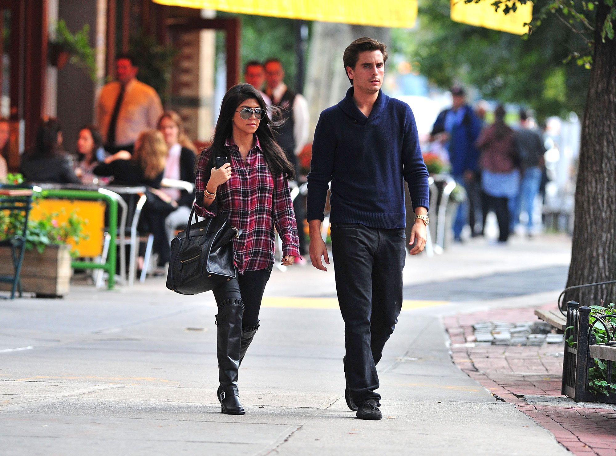 "Kourtney Kardashian and Scott Disick - The couple exclusively confirmed to Us in November 2011 that they were expecting their second child. ""It wasn't like we weren't trying,"" the expectant dad told Us at the time."