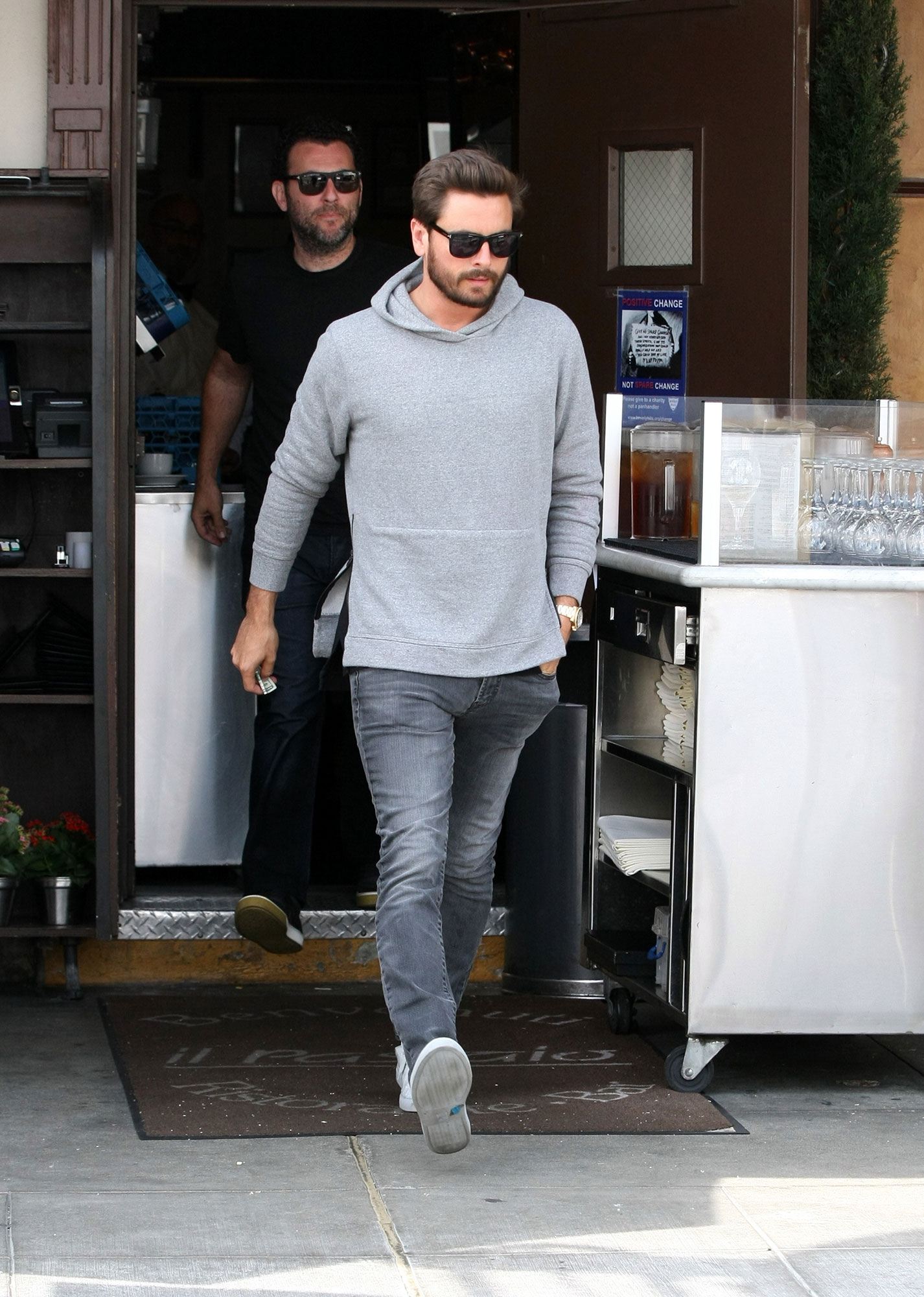 Scott Disick - Scott took control of his alcohol and drug issues in October 2015 by entering rehab as Kourtney looked after their shared children.