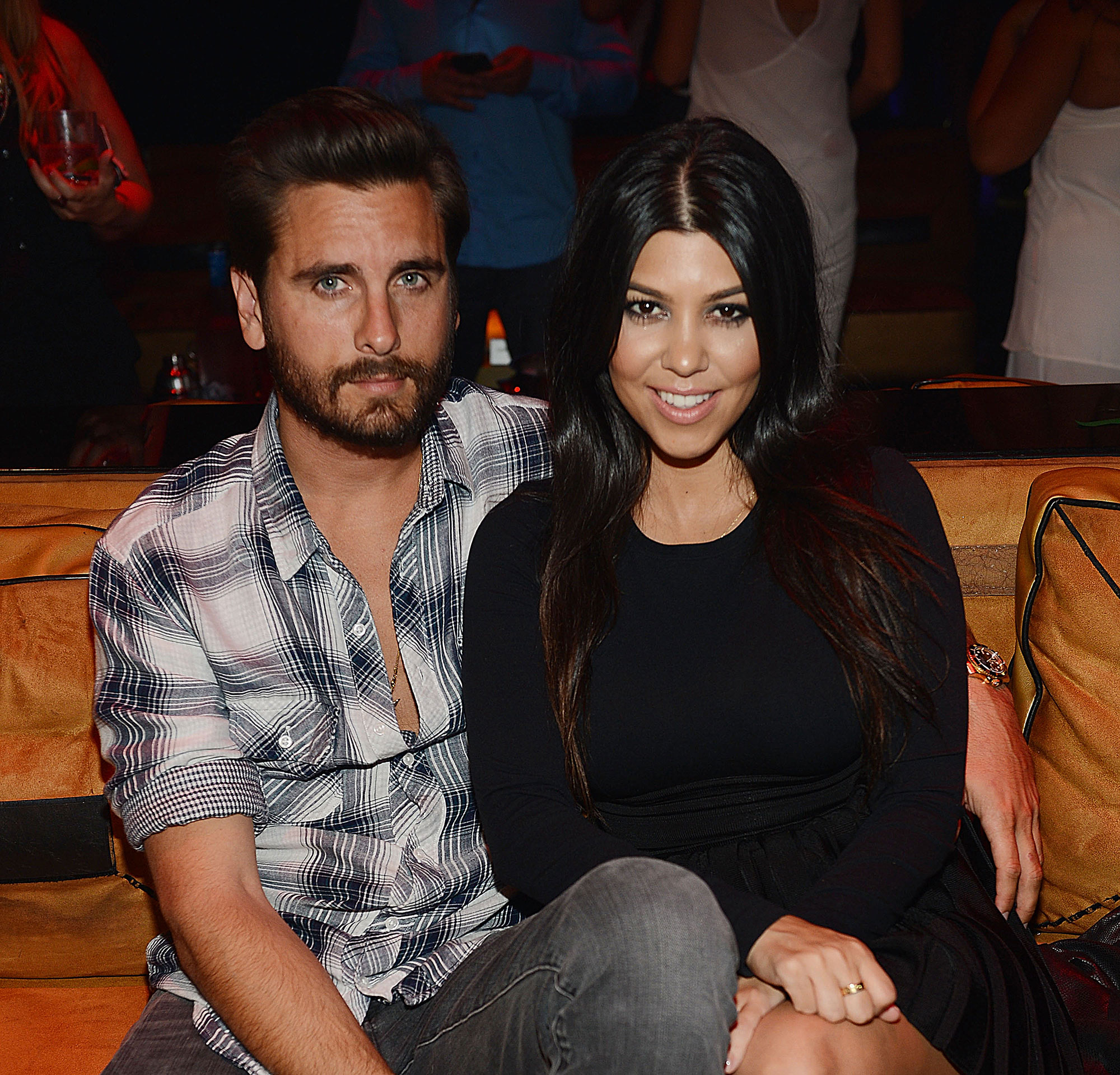 "Kourtney Kardashian and Scott Disick - The twosome called in quits for good in July 2015 after nine years when pictures surfaced of Scott getting cozy with his ex-girlfriend Chloe Bartoli in Monte Carlo. ""[She's] hanging in there ,"" Kourtney's mom, Kris Jenne r, told Entertainment Tonigh t at the time."