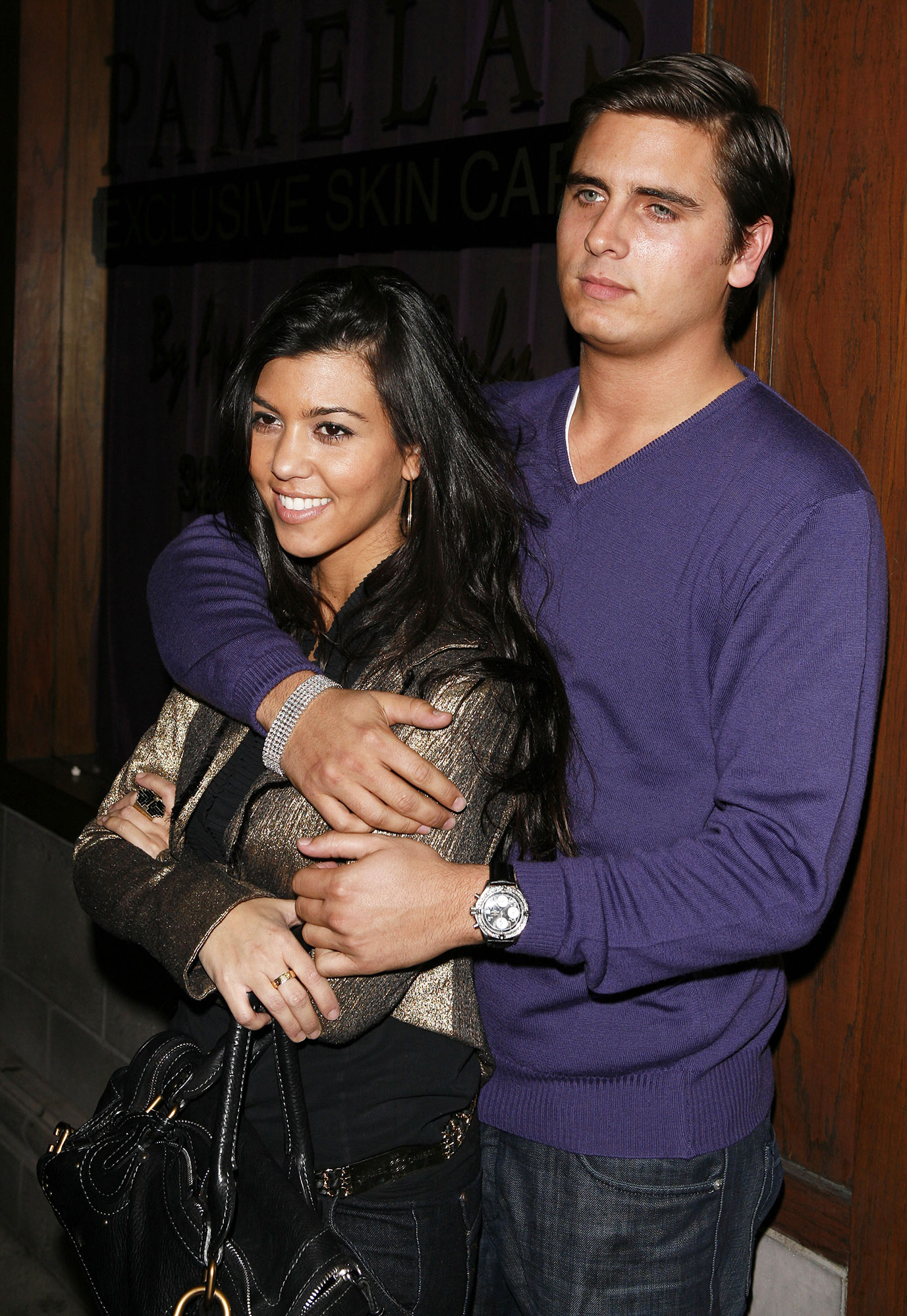 Kourtney Kardashian and Scott Disick - It all began in 2006, when Kourtney met Disick at a party thrown by Girls Gone Wild's Francis in Mexico.