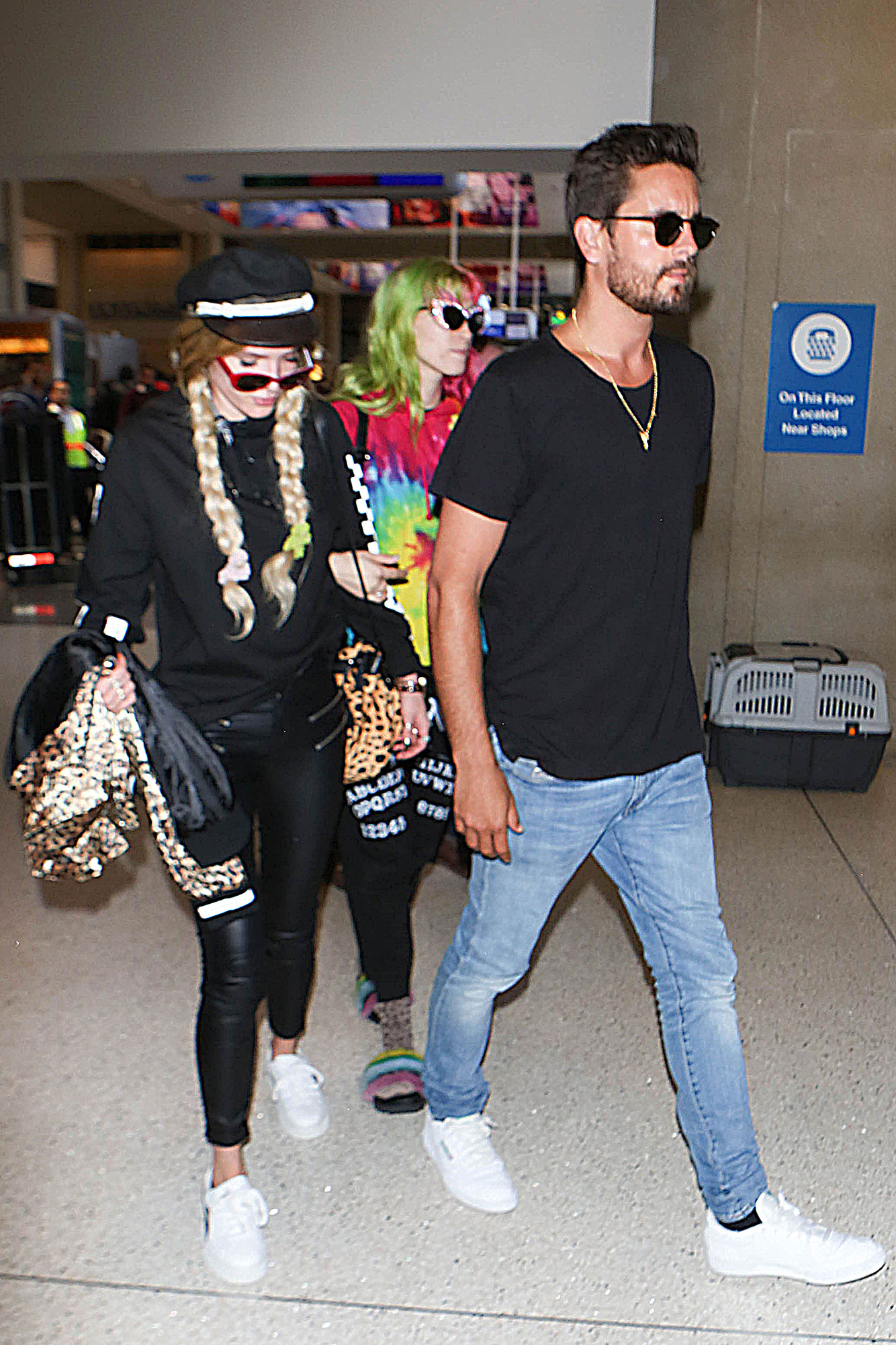 Scott Disick and Bella Thorne - Scott went on a spree of hookups and courtships in 2017, most notably with Bella Thorne , who later said the two never had sex . It did little to bring Scott and Kourtney close, however, with the two feuding over their respective hookups in an October 2017 episode of the show, in which Kim also mocked Scott for taking Thorne to Cannes.