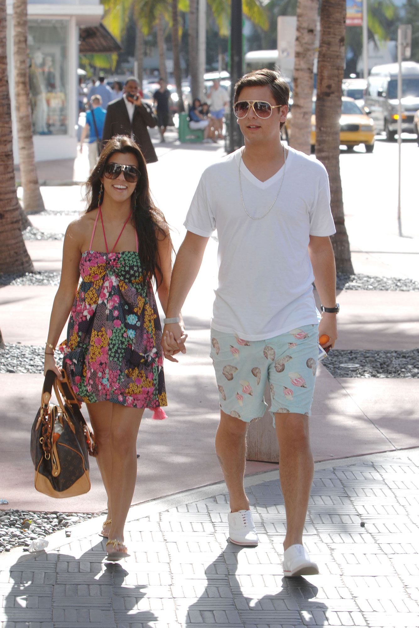 Kourtney Kardashian and Scott Disick - Our lives were forever changed in October 2007 when Keeping Up With the Kardashians debuted on E!, introducing the world to the famous Kardashian clan — including Kourtney's then-boyfriend, Scott.