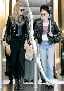 Kristen Stewart and Stella Maxwell Split