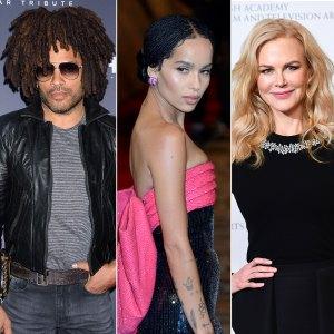 Lenny Kravitz: Daughter Zoe Working With Ex Nicole Kidman is 'Beautiful'