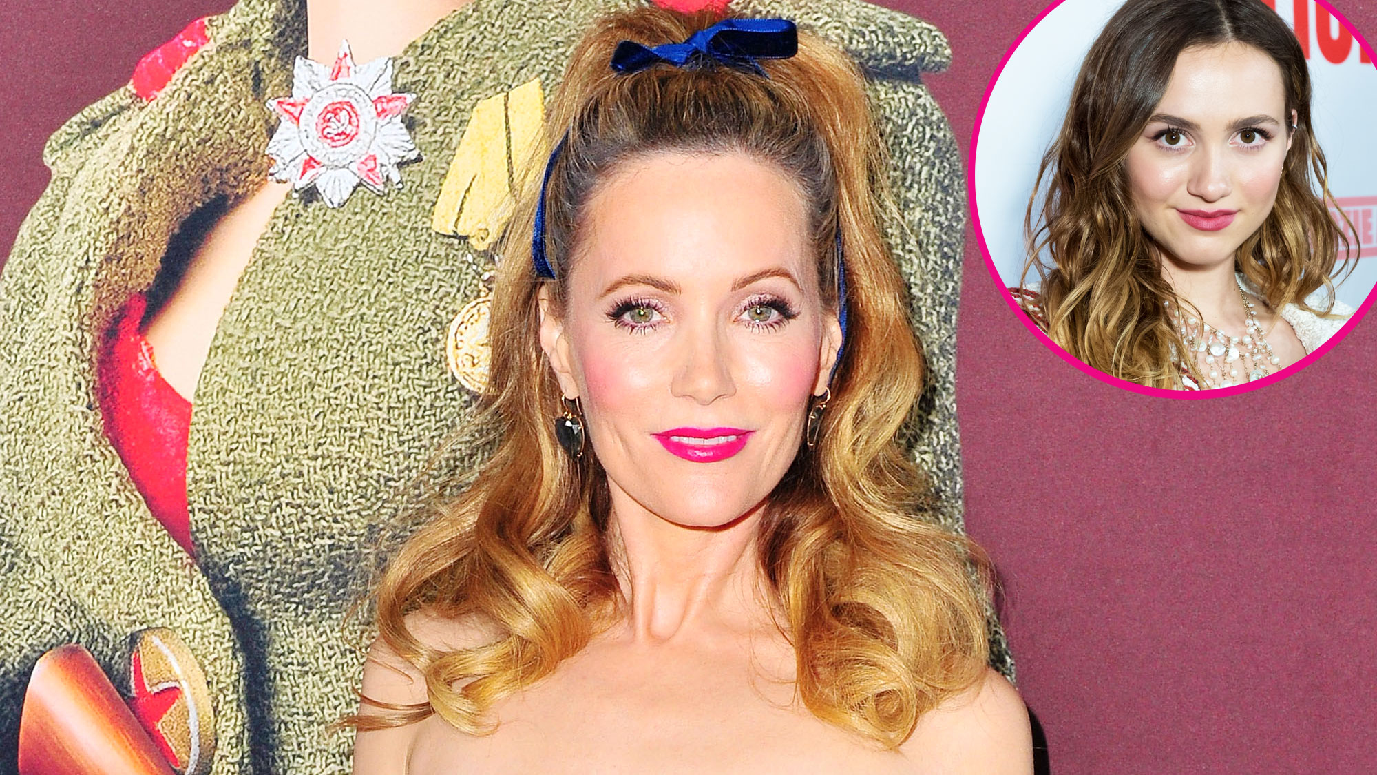 Leslie Mann and Daughter Maude Apatow