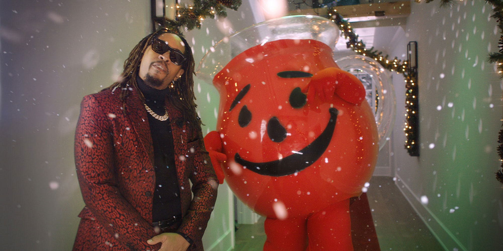 Christmas Rap.Lil Jon Kool Aid Man Release All I Really Want For