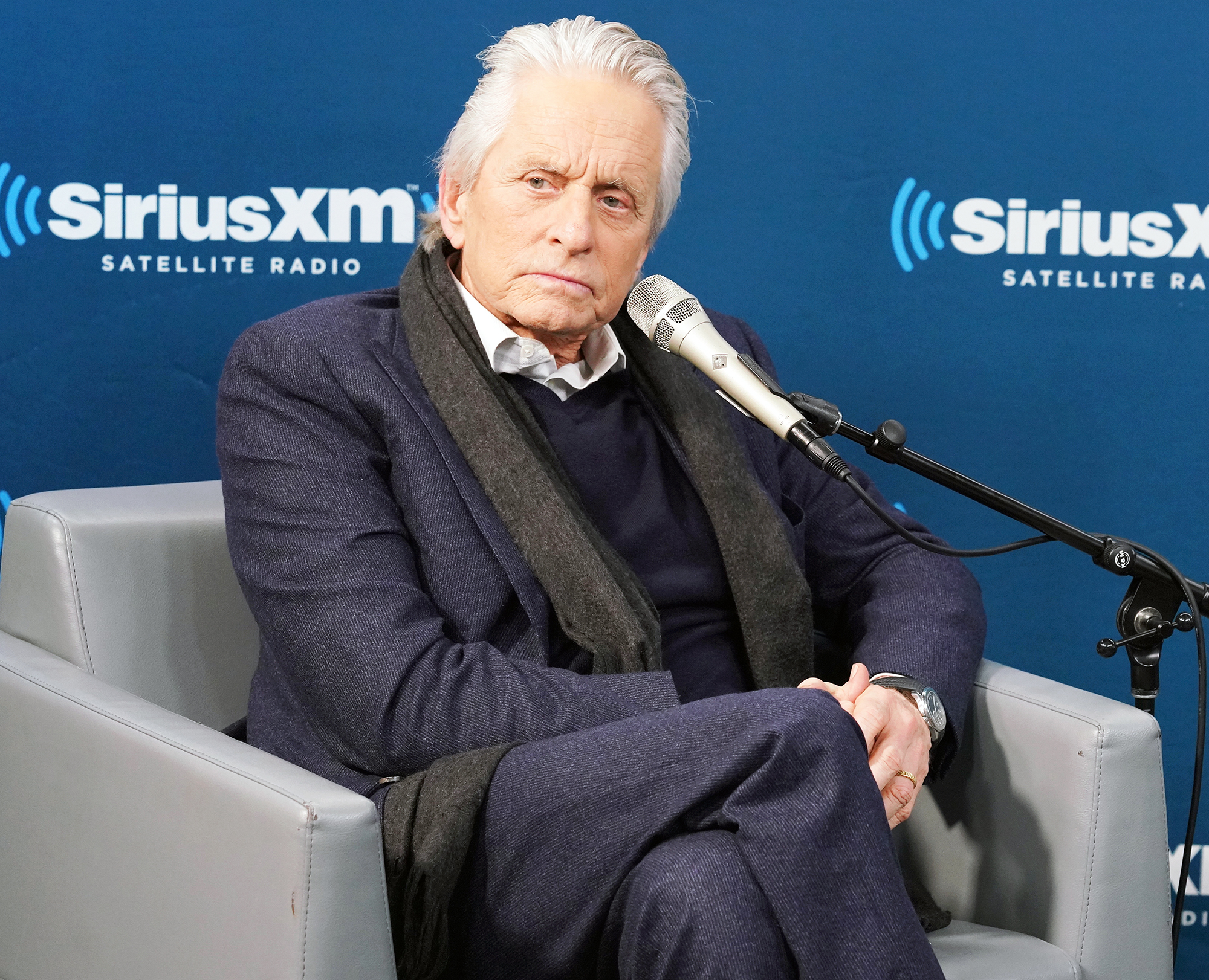 Michael Douglas Talks Sexual Assault Allegations
