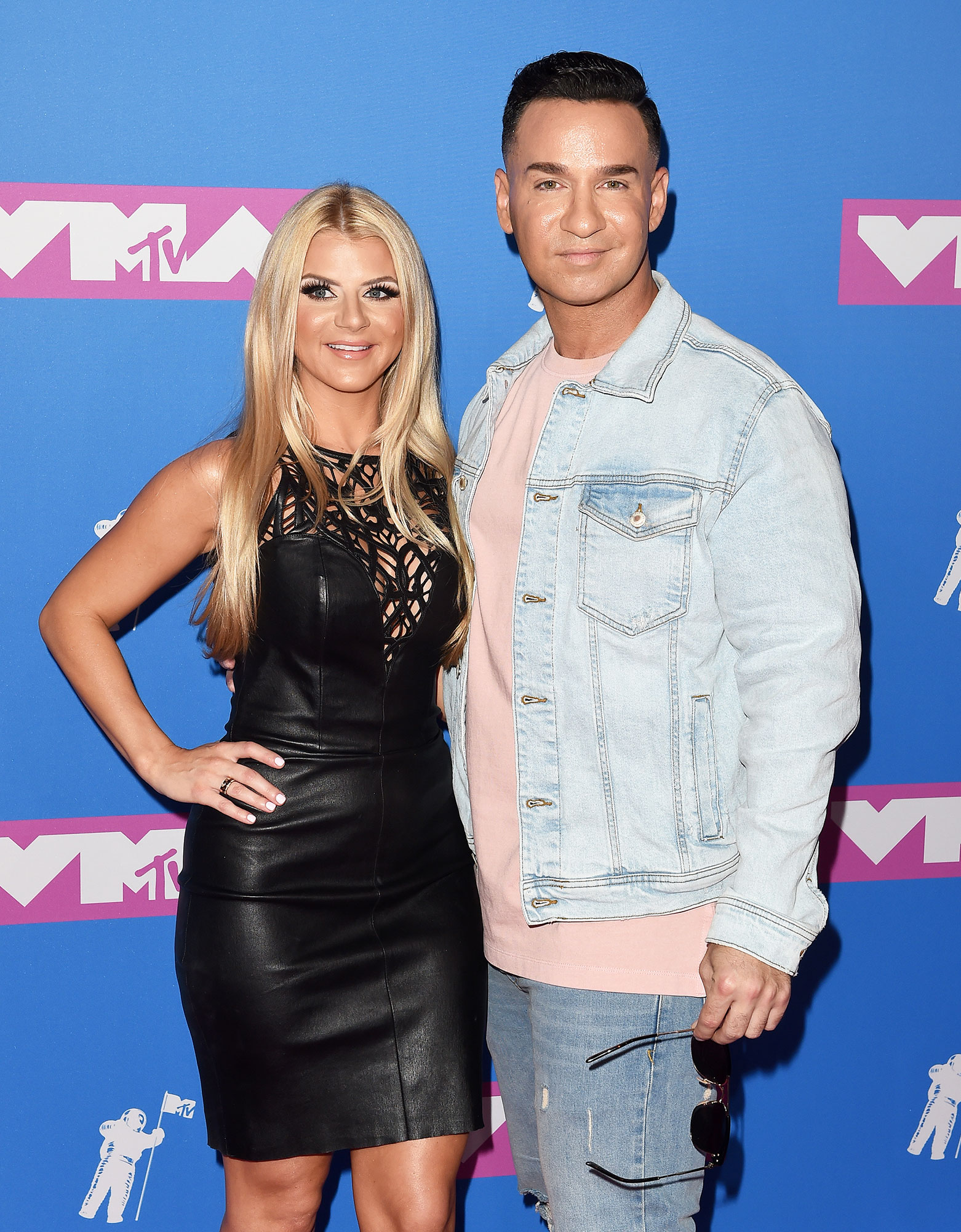 Lauren Pesce and Mike Sorrentino - Lauren Pesce and Mike Sorrentino attend the 2018 MTV Video Music Awards at Radio City Music Hall on August 20, 2018 in New York City.