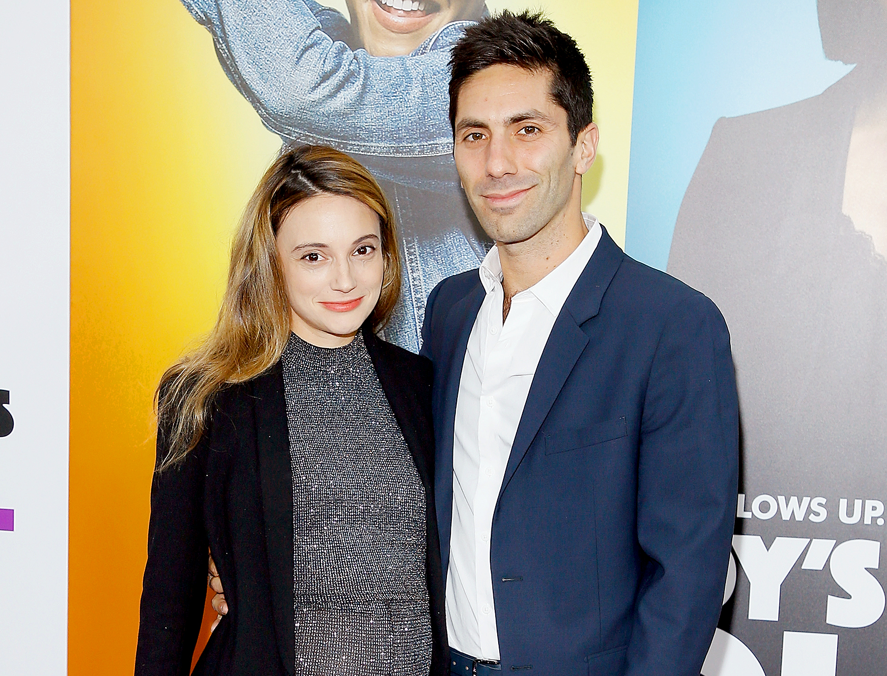 "Nev-Schulman-and-Laura-Perlongo - Nev Schulman and Laura Perlongo attend ""Nobody's Fool"" New York Premiere at AMC Lincoln Square Theater on October 28, 2018 in New York City."