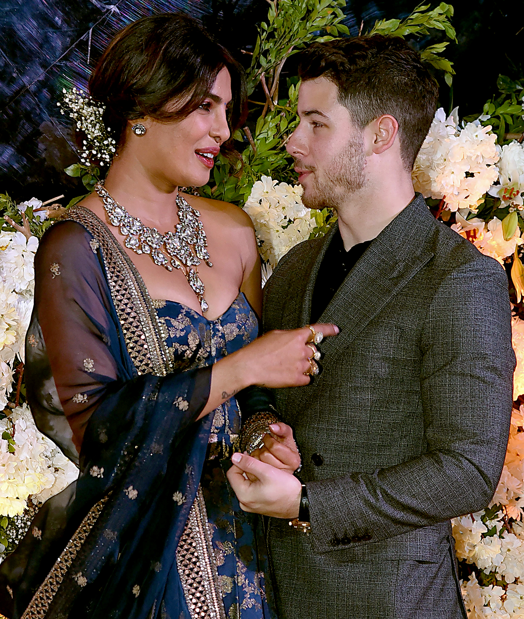 "Nick-Jonas-and-Priyanka-Chopra-Mumbai-Wedding-Reception - Jonas revealed on Spotify's ""The Rewind with Guy Raz"" on December 14 that he ""definitely"" wants to be a father. ""I think that's a real dream,"" he gushed."