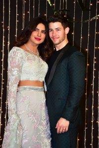Nick Jonas Priyanka Chopra Host Third Wedding Reception Photos