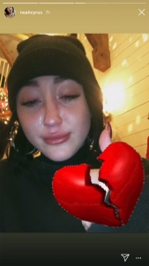 Noah Cyrus Cries at What Appears to Be Miley Cyrus and Liam Hemsworth's Wedding Celebration
