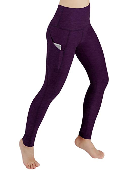 ODODOS High-Waist Out Pocket Yoga Pants